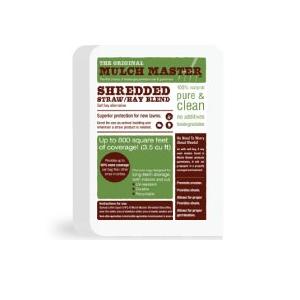 Mulch Master Shredded Straw/Hay Blend 3.5CF