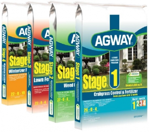 Agway® 4 Stage Lawn Care Program