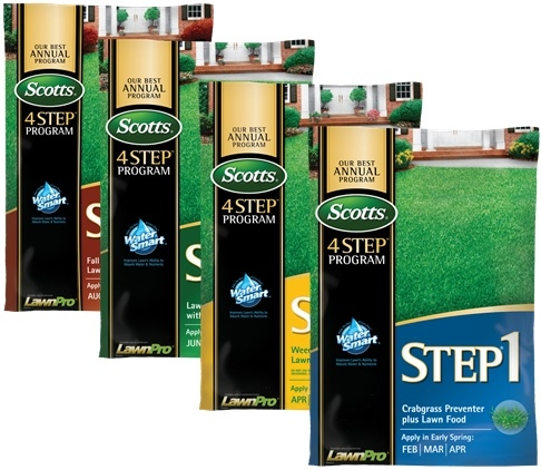 Scotts® 4-STEP® Annual Lawn Care Program