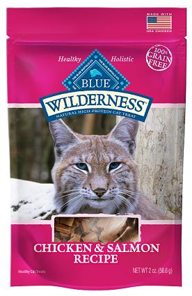 BLUE Wilderness® Chicken & Salmon Cat Treats Soft-Moist Cat Treats