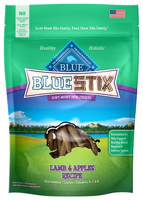 BLUE Stix™ Lamb & Apple Soft-Moist Dog Treats