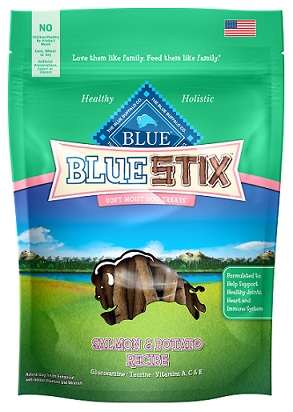 BLUE Stix™ Salmon & Potato Soft-Moist Dog Treats