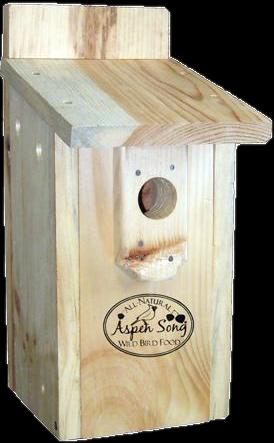 Aspen Song Bluebird Nest Box