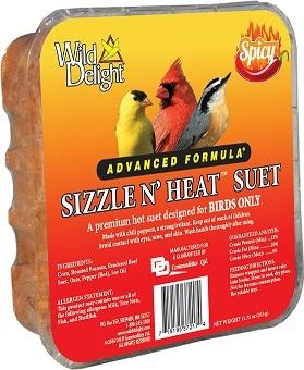 Wild Delight Sizzle N Heat Suet 11.75oz