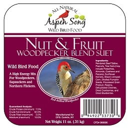 Aspen Song® Nut & Fruit Suet 11oz