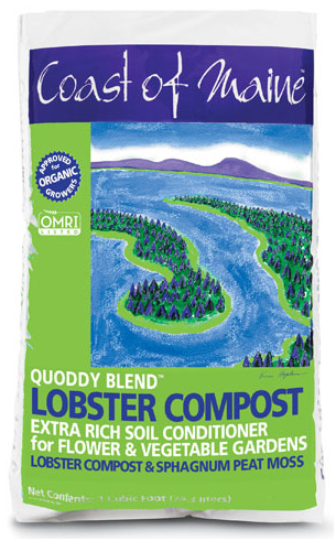Coast of Maine Quoddy Blend Lobster Compost 1 Cu. Ft.