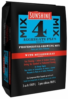 Sunshine® Mix #4 with Mycorrhizae 3.0 Cu. Ft.