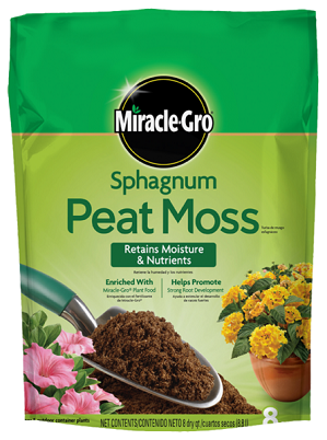 Miracle-Gro® Sphagnum Peat Moss
