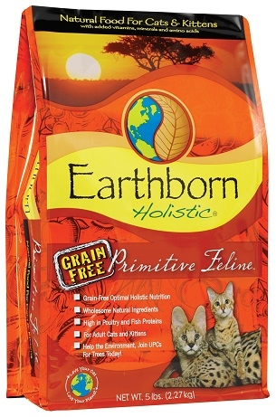 Earthborn Holistic Grain-Free Primitive Feline™
