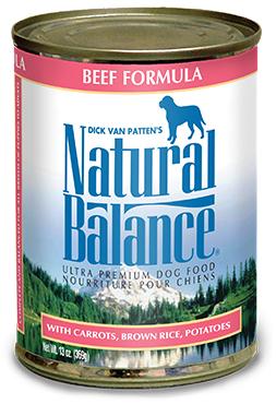 Natural Balance Ultra Premium Beef Canned Dog Formula