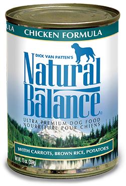Natural Balance Ultra Premium Chicken Canned Dog Formula