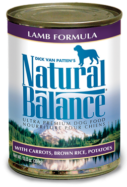 Natural Balance Ultra Premium Lamb Canned Dog Formula