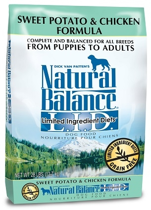 Natural Balance L.I.D. Limited Ingredient Diets® Chicken & Sweet Potato Dry Dog Formula