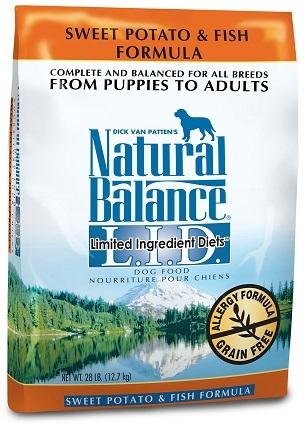 Natural Balance L.I.D. Limited Ingredient Diets® Sweet Potato & Fish Dry Dog Formula