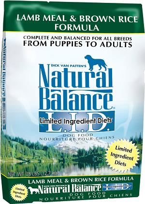 Natural Balance L.I.D. Limited Ingredient Diets® Lamb Meal & Brown Rice Dry Dog Formula