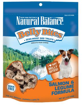 Natural Balance Belly Bites™ Salmon & Legume Semi-Moist Treats 6oz