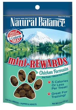 Natural Balance Mini-Rewards Chicken Formula 4oz