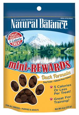 Natural Balance Mini-Rewards Duck Formula 4oz