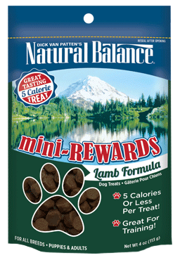 Natural Balance Mini-Rewards Lamb Formula 4oz