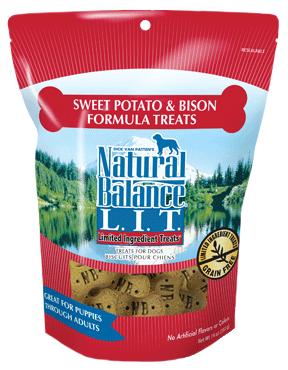 Natural Balance L.I.T. Limited Ingredient Treats® Sweet Potato & Bison Formula