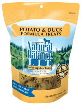 Natural Balance L.I.T. Limited Ingredient Treats® Potato & Duck Formula
