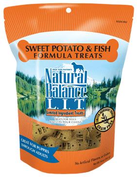 Natural Balance L.I.T. Limited Ingredient Treats® Sweet Potato & Fish Formula