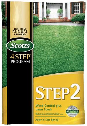 Scotts® STEP® 2 Weed Control Plus Lawn Food