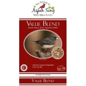 Aspen Song® Value Blend Bird Seed 30lb $10.99
