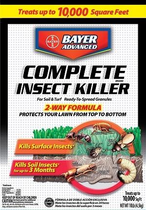 Bayer Complete Insect Killer For Soil & Turf 10Lb. Granules