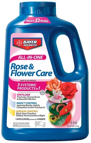 Bayer All-In-One Rose & Flower Care 4Lb. Granules