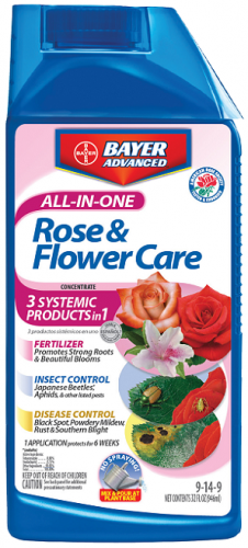 Bayer All-In-One Rose & Flower Care 32Oz. Concentrate