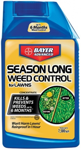 Bayer Season Long Weed Control For Lawns 24Oz. Concentrate