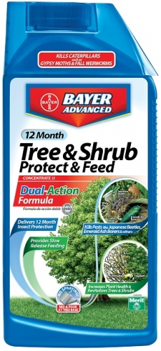 Bayer 12 Month Tree & Shrub Protect & Feed II 32Oz. Concentrate