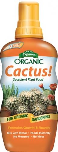 Espoma Organic Cactus! Succulent Plant Food 8 Oz. Concentrate