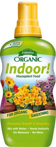 Espoma Organic Indoor! Houseplant Food 8 Oz. Concentrate