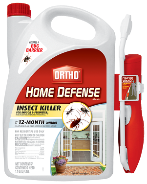 Ortho® Home Defense Insect Killer For Indoor & Perimeter with Comfort Wand® 1.1 Gal.