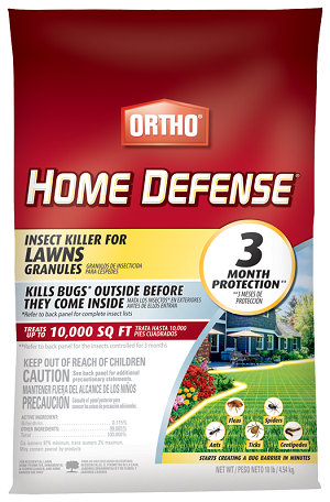 Ortho® Home Defense® Insect Killer for Lawns Granules 10 Lbs.
