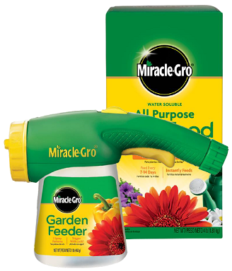 Miracle Gro 4lb All-Purp or Garden Feeder: $8.99