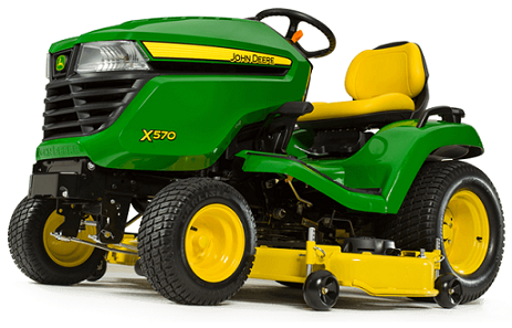 0% for 60* on new X500 Select Series Tractors