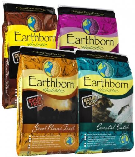 28lb Earthborn Grain-Free Dog Food: $44.99