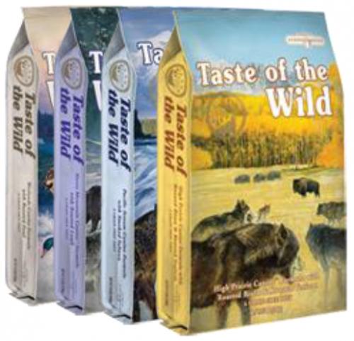 30lb Taste of the Wild Grain Free Dog Food: $46.99
