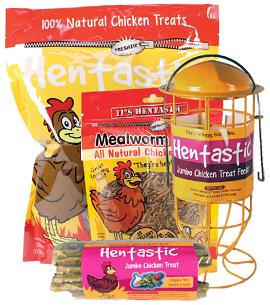 20% OFF Hentastic Chicken Treats & Feeders