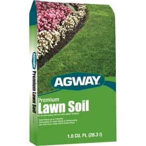 Agway Premium Lawn Soil 1 Cu. Ft. $4.99