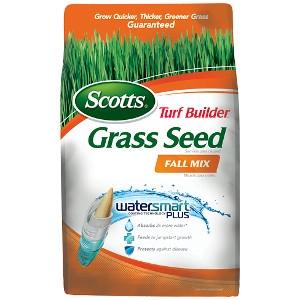 Scotts Turf Builder Grass Seed Fall Mix 3lb $14.99