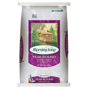 Morning Song Year-round Wild Bird Food 40lb $9.99