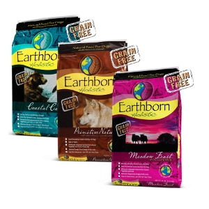 28lb Earthborn Grain-Free Dog Food $46.99