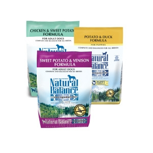 $5 Off Natural Balance LID Dog Food 26lb - 28lb