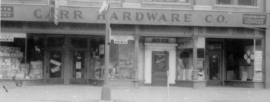 Old image of storefront