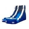 15' Single Lane Wet or Dry Slide - Blue
