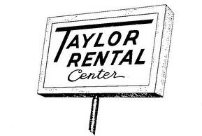 Taylor Rental Center of Webster, NY Logo